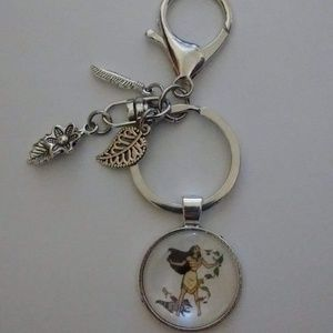 Accessories - Disney Pocahontas Keychain/Purse Dangle